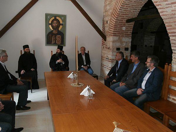 Комисија за Хиландар Владе Србије одржана у Хиландару