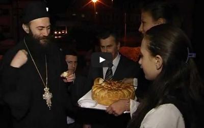 Посета игумана Хиландара Чајетини (ВИДЕО)