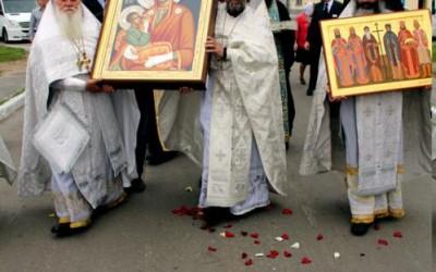 Хиландарске светиње у градовима Русије