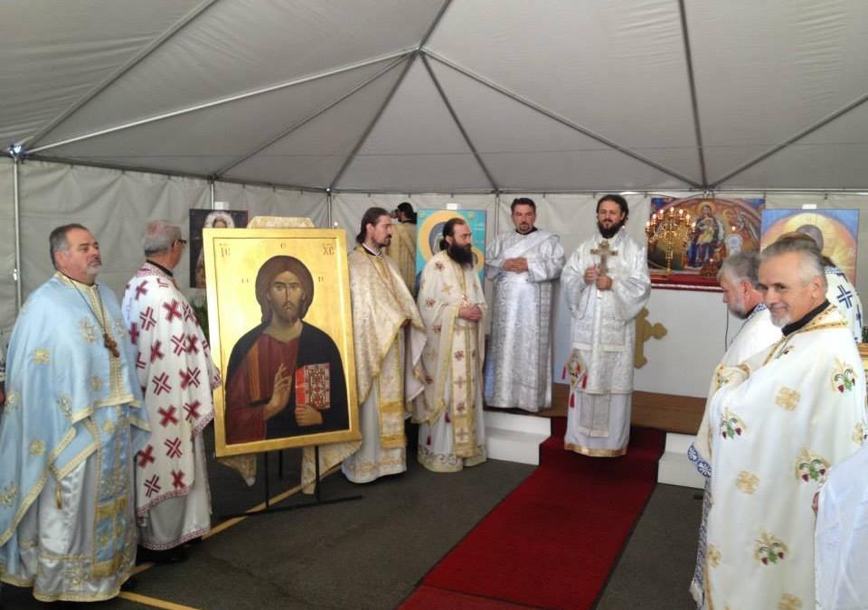 Игуман Методије у посети Епархији западноамеричкој