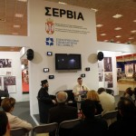 Издаваштво Хиландара на Сајму књига у Солуну и посета министра Хиландару