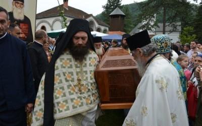 Пренос моштију Светог Јустина Ћелијског
