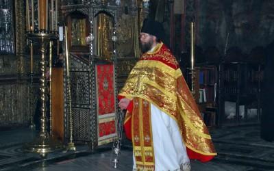 Посета игумана Новојерусалимског манастира Хиландару