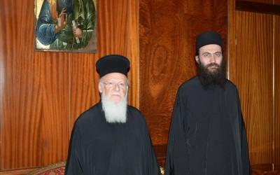 Хиландарски игуман у посети Васељенском патријарху
