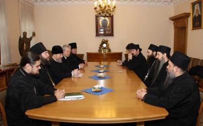Игуман Методије у Одељењу спољних црквених веза РПЦ