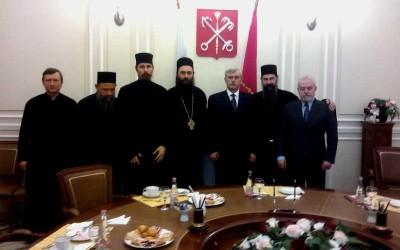 Хиландарски игуман код губернатора Санкт Петербурга