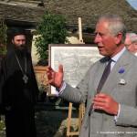 Принц Чарлс помаже Обнову Хиландара