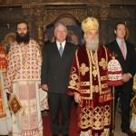 Хиландарски игуман на слави српске краљевске породице