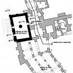 Детаљ плана манастирских објеката