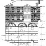 Северна фасада