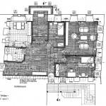 Основа првог спрата (Келија владике Мелентија)