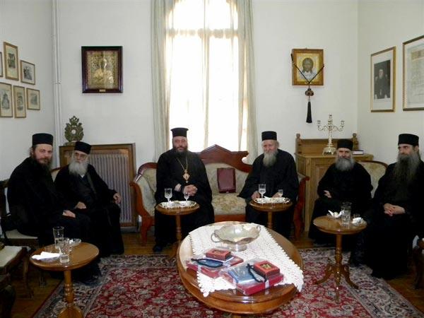 Епископ Марко у посети Светој Епистасији