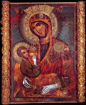 Икона Богородице Млекопитатељнице у Београду
