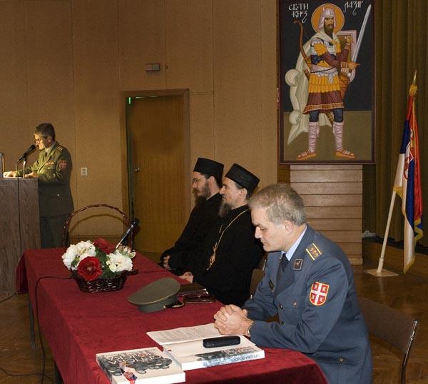 Предавање монаха Доситеја на Војној академији