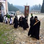 Богојављење у Хиландару 2015.
