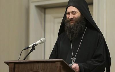 Игуман Методије на скупу о монаштву у Москви