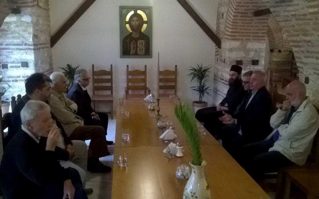 Седница државне Комисије за Хиландар одржана у манастиру