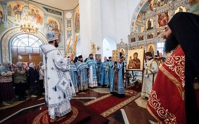 Икона Богородице Тројеручице у Татарстану