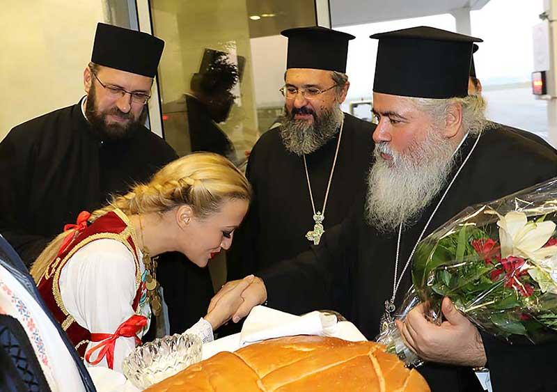 Митрополит Варнава у посети Србији