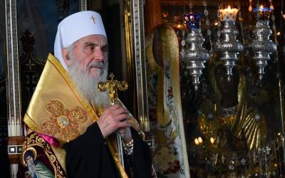Историјска посета патријарха Иринеја Хиландару поводом манастирске славе