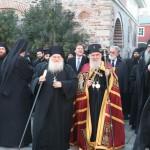 Патријарх Иринеј у Манастиру Ватопеду на Светој Гори