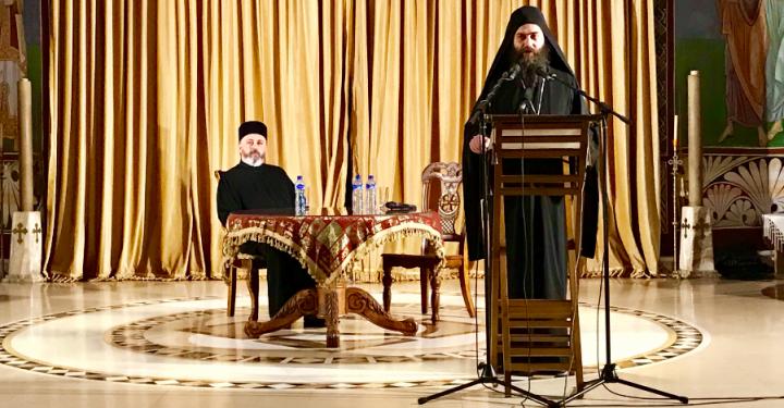 (Видео) Игуман Методије одржао предавање у Подгорици