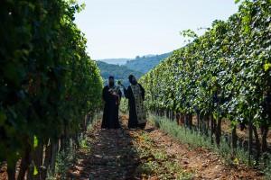 Молебан за почетак бербе у хиландарским виноградима