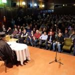 Јеромонах Доситеј Хиландарац на предавању у Врбасу