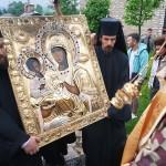 Тројеручица у манастиру Ђурђеви Ступови у Беранама