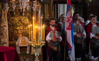 Порука Хиландара – Видовдан је духовни барјак Србије! (видео, аудио)