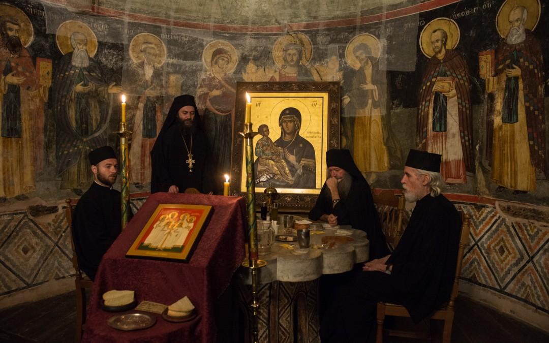 Свеноћно бдење у Хиландару у спомен Светог мученика цара Николаја II (аудио)