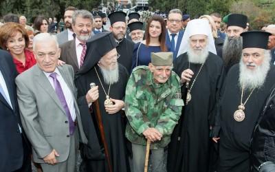 Игуман Методије на прослави стогодишњице Солунског фронта