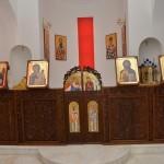 олтар посвећен Св. Сави Калимноском