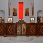 олтар посвећен Св. Сави Српском