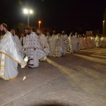 Хиландарски игуман на освећењу цркве Св. Саве на Кипру