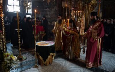 Игуман Дохијара на слави Преподобног Симеона Мироточивог у Хиландару (аудио)