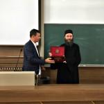 Игуман Методије на Пољопривредном факултету