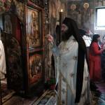 Света Литургија у Манастиру Троноша