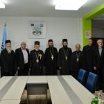 Игуман Методије код градоначелника Лознице