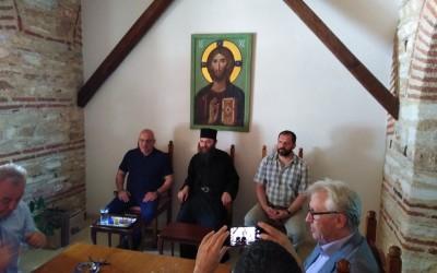 Комисија за Хиландар у посети манастиру