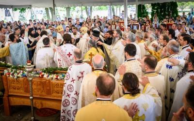 Игуман Методије на црквеном сабору све три српске епархије у САД