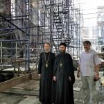 Игуман Методије у обиласку Цркве Светог Саве у Њујорку