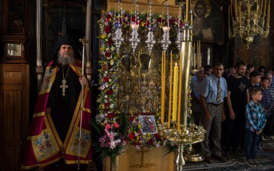 Празник Тројеручице у Хиландару