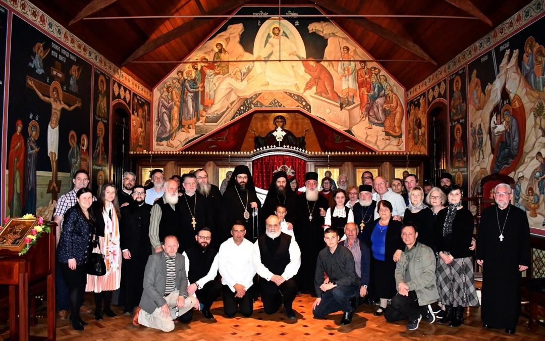 Епископ Силуан дочекао игумана Методија у Аустралији