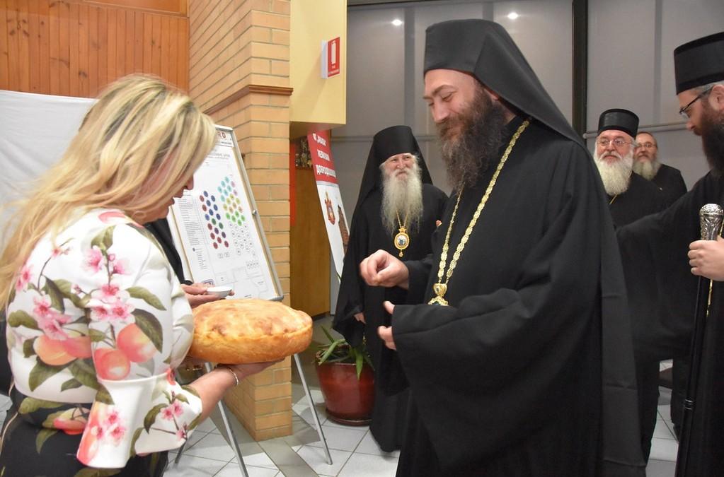 Хиландарски игуман на прослави 800 година СПЦ у Мелбурну