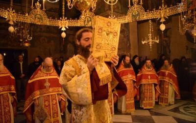 Света Гора прославила 8 векова од рукоположења Светог Саве за првог Архиепископа српског