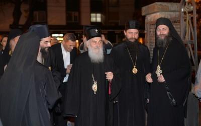 Игуман Методије на прослави два века Саборног храма у Нишу