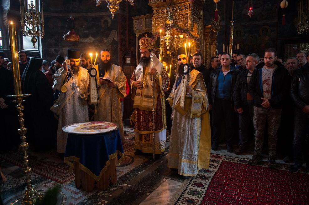 Прослављена храмовна слава Хиландара – Ваведење