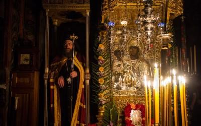 Прослава празника Тројеручице у Хиландару