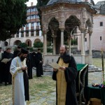 Молебан за успешну обнову Дохије и Игуменарије